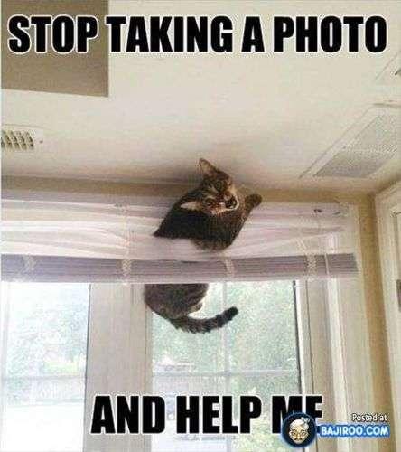 Smettere di prendere una foto