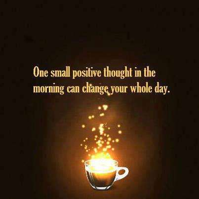 Quotes - One small positive thought