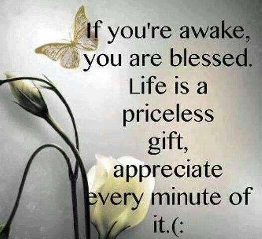 good morning - blessed gift