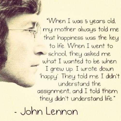 Quotes Jhon Lennon