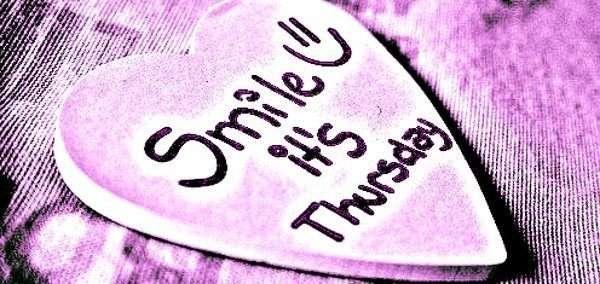 Smile - love - Thursday