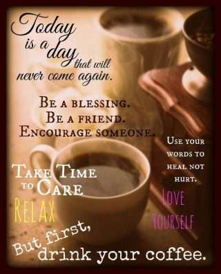 Good morning saying and quotes