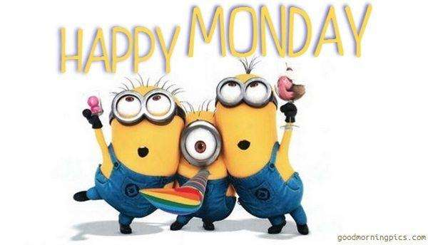 Happy Monday Minions | goodmorningpics.com