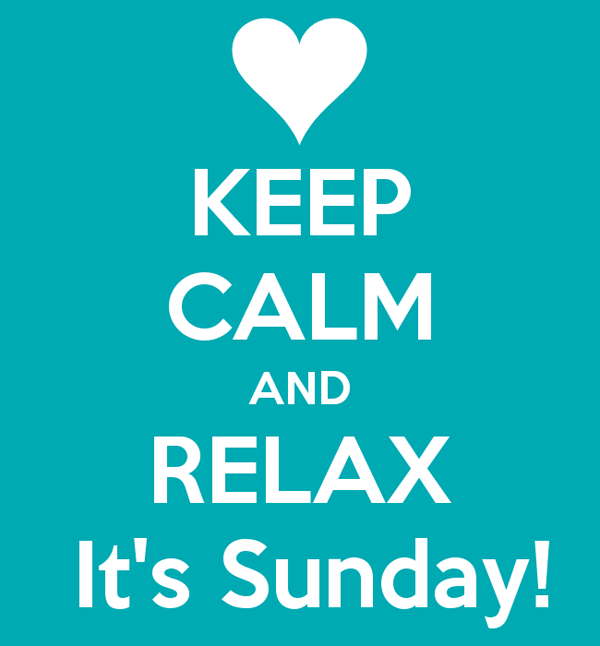 Relax-it's-Sunday