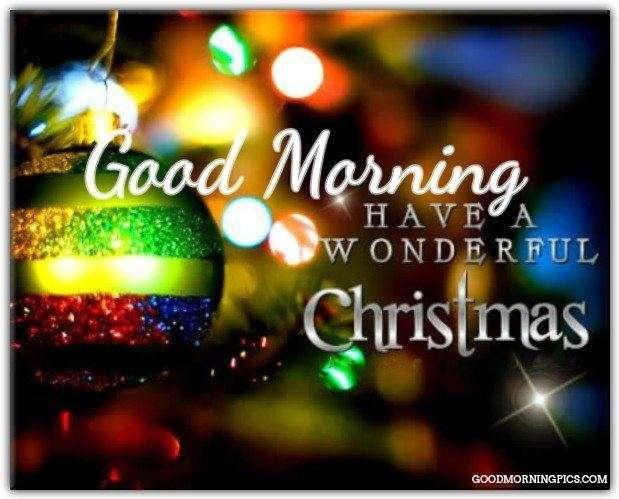 Good Morning and Merry Christmas | goodmorningpics.com