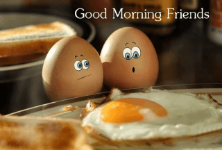 good morning friends funny