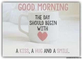 Good-morning-with kiss-hug-and-smile