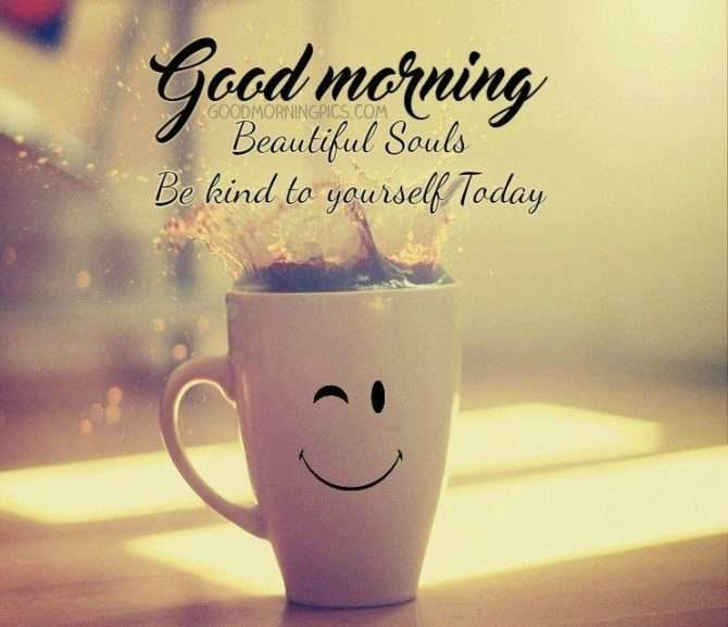 Good Morning Sunday For Her : Good morning quote be kind goodmorningpics