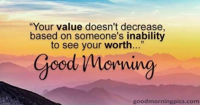 Good morning quote goodmorningpics