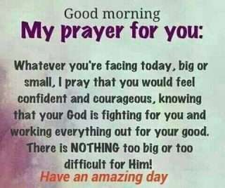 Good morning prayer