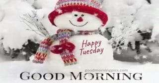 happy tuesday, pictures with snow for cold days