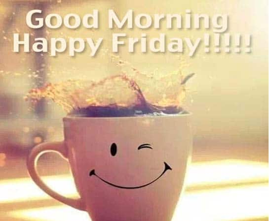 a good coffee to give you a smile. Good Friday