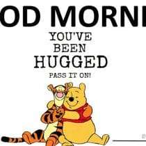 Good Morning! Share this hug